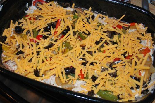 Mexican Lasagna steps 7 & 8
