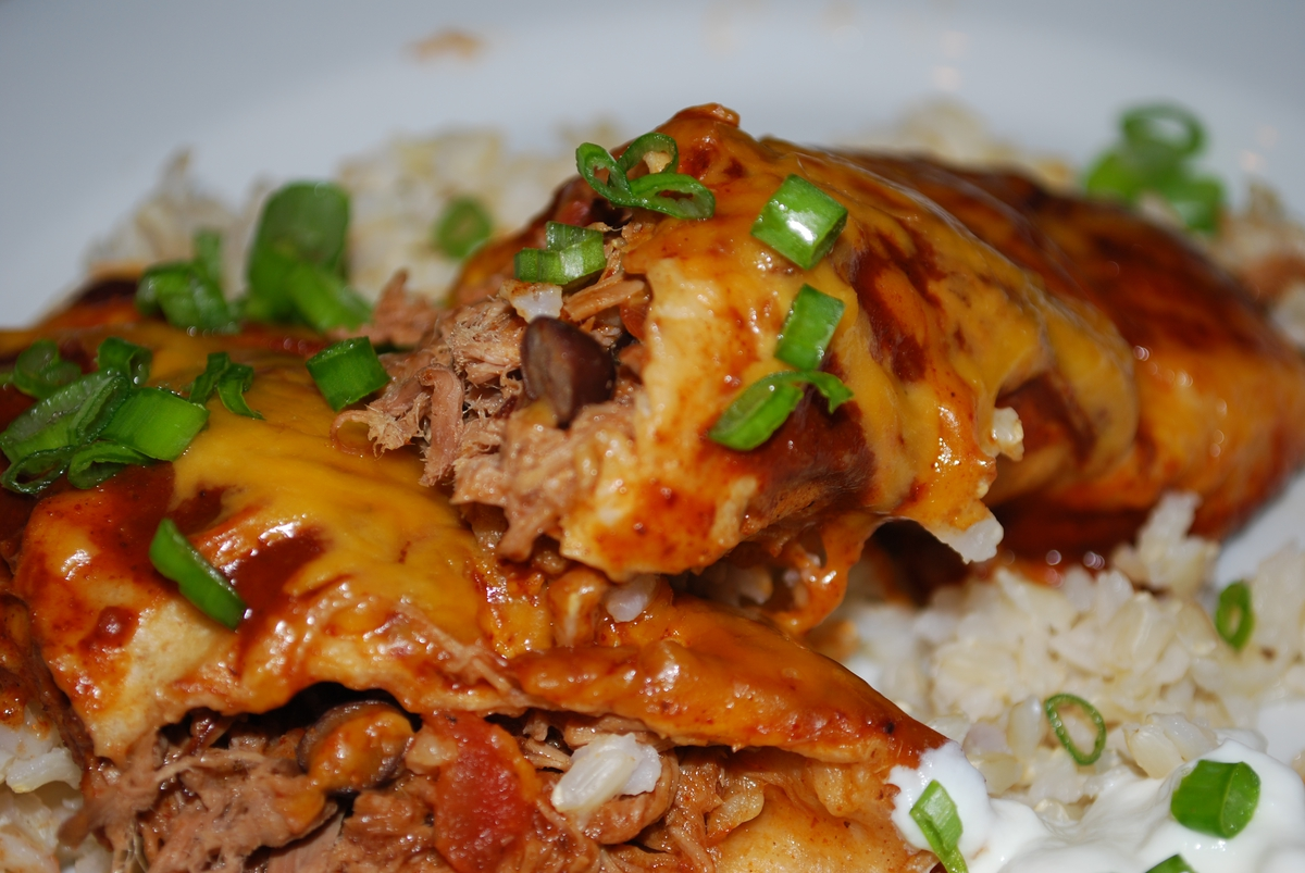 Sunday Leftovers Pot Roast Enchiladas