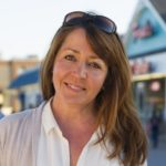 "Deborah Smith, Author PT. PLEASANT BEACH, NJ USA (04/17/2016) - Deborah Smith, Author, is photographed in Pt. Pleasant Beach, NJ Sunday, April 17, 2016. Ms. Smith is a well known food blogger and has a new book out from Random House, ""The Jersey Shore Cookbook"". Matt Rainey/Matt Rainey Photography, LLC"