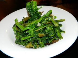 photo of broccoli raab at Beastie Burgers in Red Bank