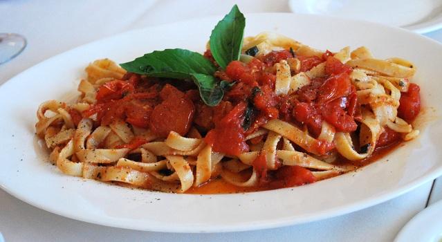 Pasta at Case Giuseppe
