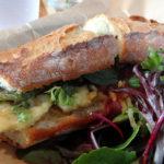 sandwich at &grain in Garwood