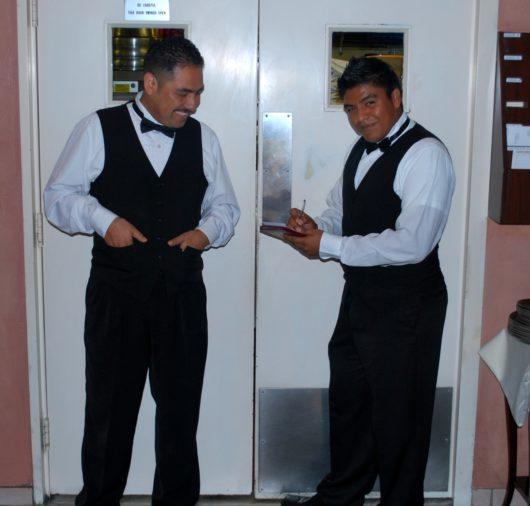 Casa Giuseppe Wait Staff