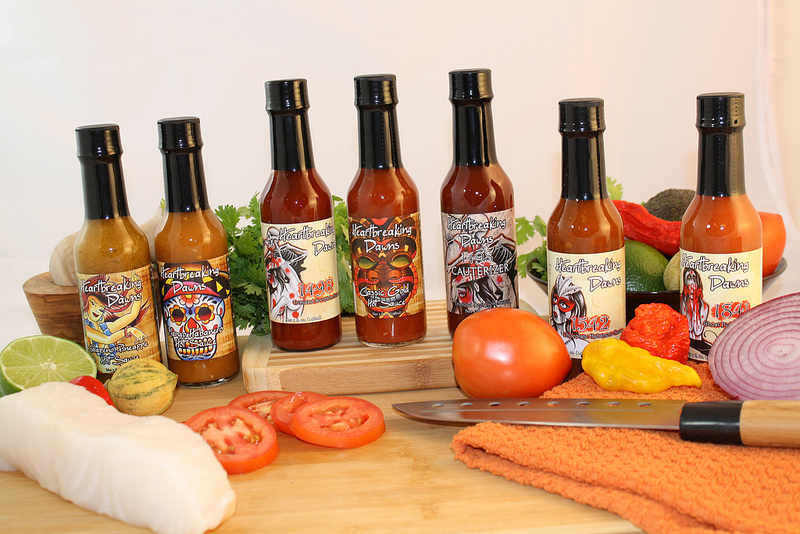 Heartbreaking Dawns Hot Sauces