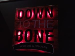 Down to the Bone Sign