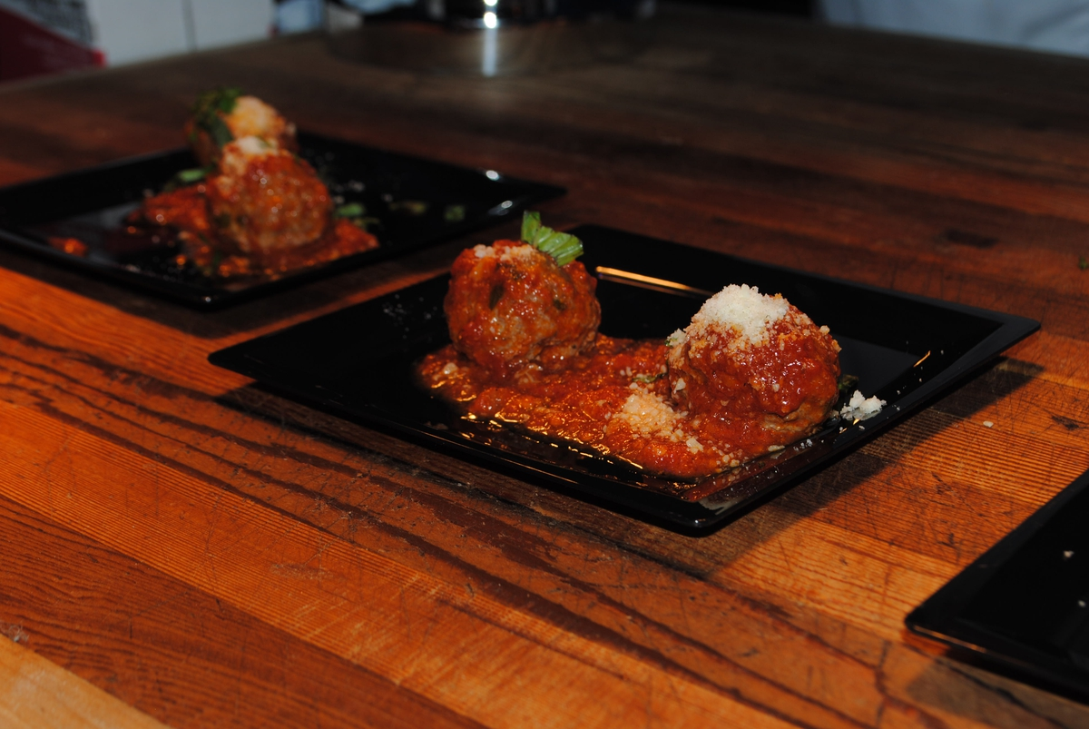 Meatballs to be served at Atlantic City Food and Wine Festivals