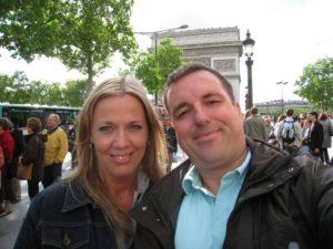 Veronique Deblois and Pat in Paris