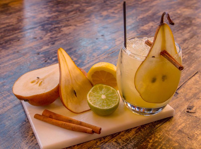 Spiced Pear Margarita