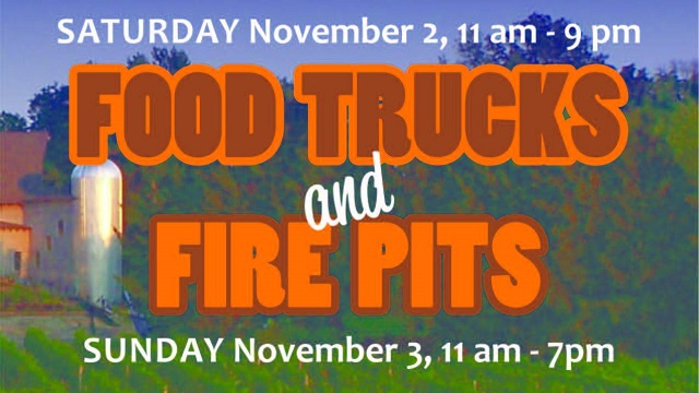 Laurita Winery Food Truck and Fire Pits event