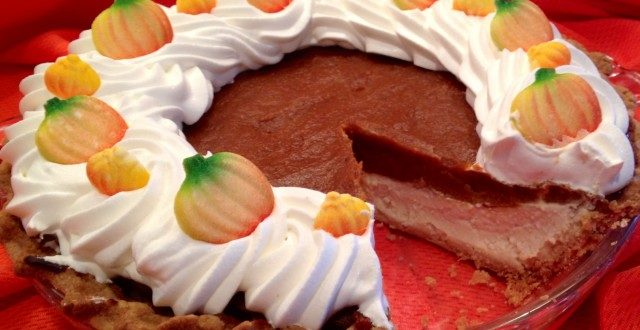pumpkin pie cheesecake recipe: Gwynn Galvin