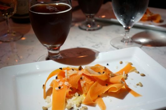 sweet potato with beer