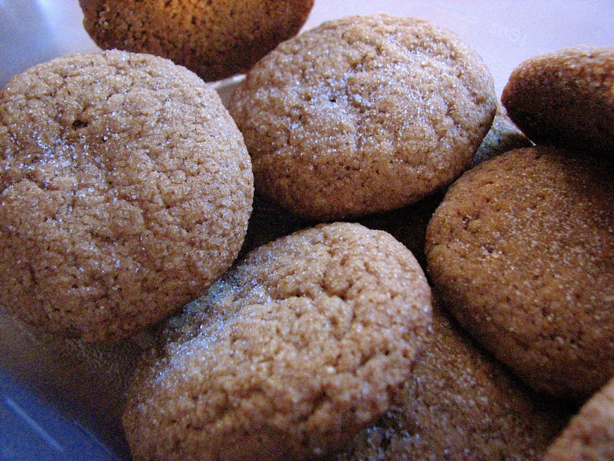 Triple-Ginger Cookies, Deanna Quinones