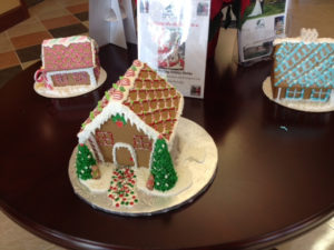 Red Knot, Gingerbread houses