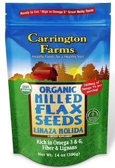 Carrington Farms Organic Flax