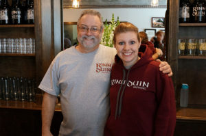 Chip and Jacqui Town, Rinn Duin Brewing, Toms River
