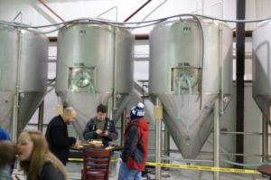 Rinn Duin's fermenters, Rinn Duin Brewing, Toms River