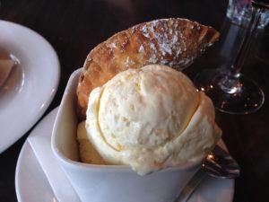 The Banana Empanada with Sweet Corn Ice Cream, Melissa Baratta, Ocean County