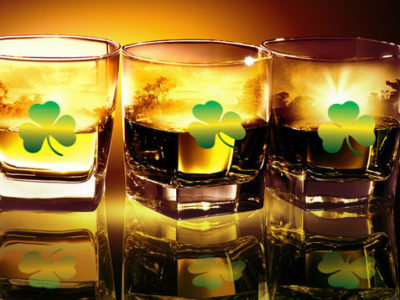 Irish Whiskey for St. Patrick's Day