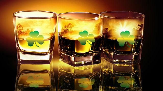 Irish Whiskey for St. Patrick's Day