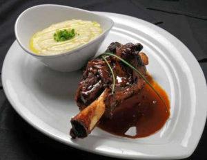 Bibi'z Restaurant & Lounge, Bergen County, Lamb Shank with wine reduction.