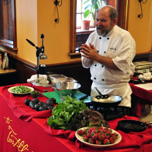 Cooking Class, Chef Mark Smith of the Tortilla Press