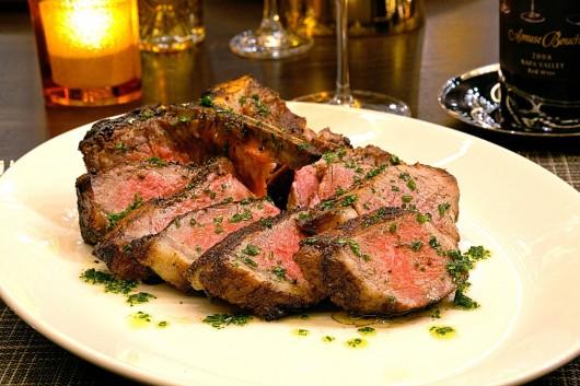 Robert's Steakhouse plated steak