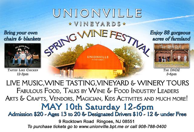Unionville Vineyards Spring Wine Festival