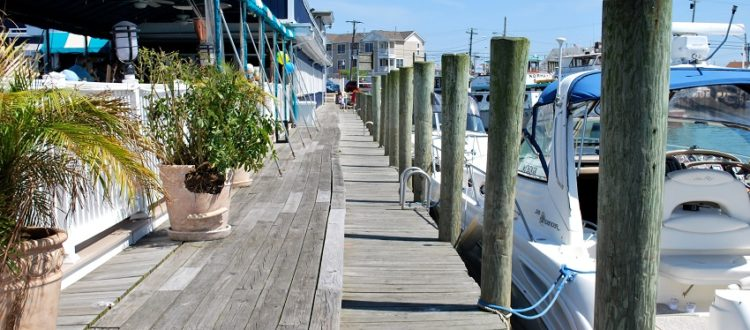 dock and dine Restaurants in New Jersey