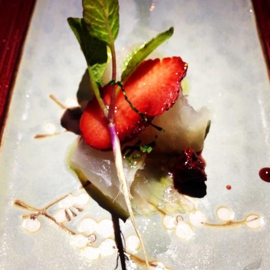 Fluke sashimi