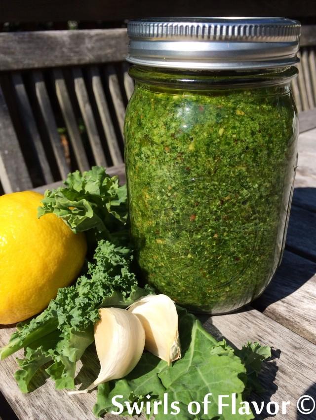 Recipe: Kale Pesto – Jersey Bites