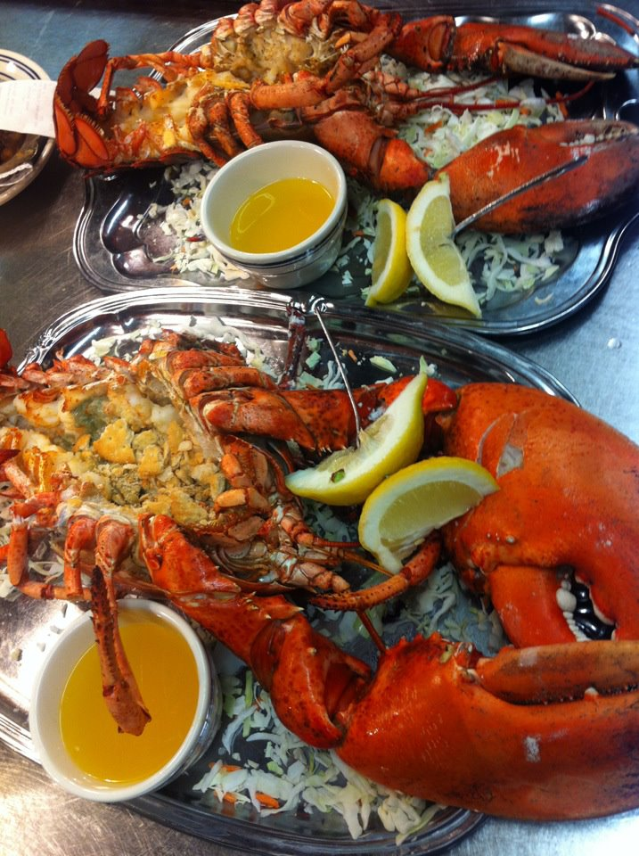 A lobster from Bahr's Landing Famous Seafood Restaurant and Marina, one of the participating locations.
