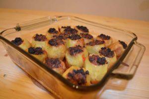 Mahshy potato with beef
