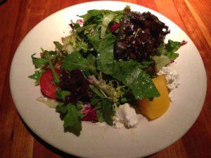 Nice Little House Salad, Houston's, Jersey Bites