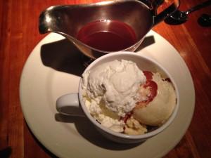 Hot fudge sundae, Houston's, Jersey Bites