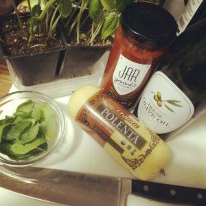 Jar Goods Classic Red Ingredients Polenta