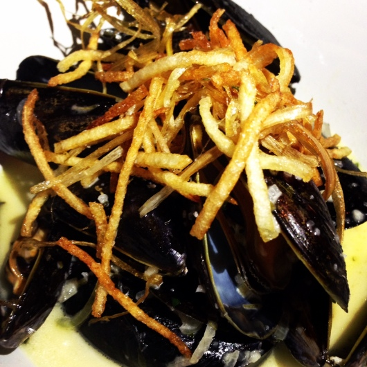 Mussels, Satis Bistro, Jersey City, Jersey Bites