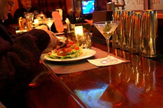salad at bar