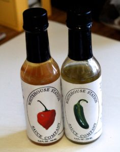 whitehouse station hot sauce review