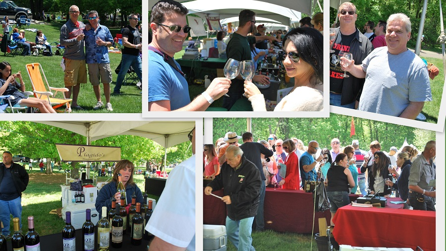 Blues Wine and BBQ Festival collage