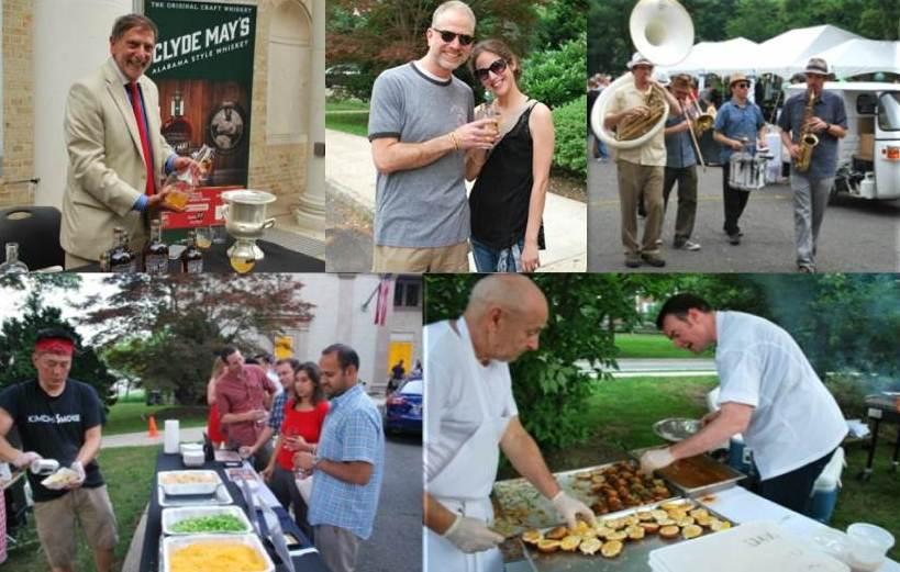 Montclair food & wine festivals bourbon and biergarten event