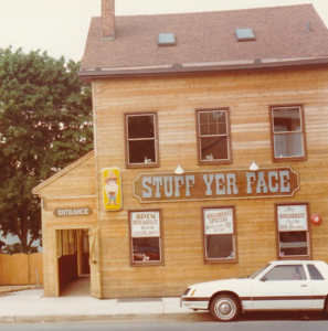 Stuff Yer Face in 1982.