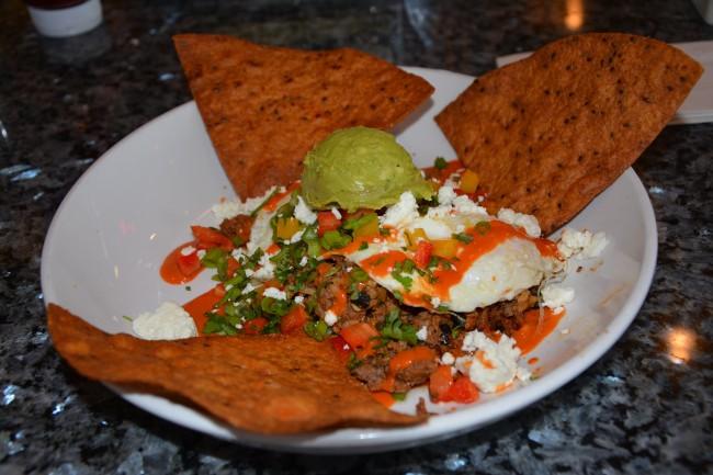 Bison Huevos Rancheros_ Siver Diner