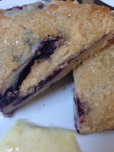 Blueberry hand pie, South & Pine