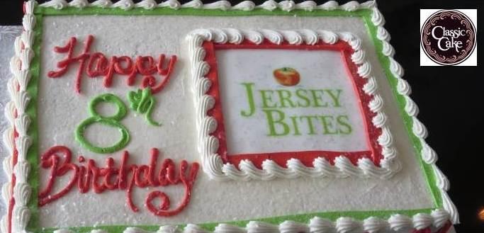 Jersey Bites Birthday cake
