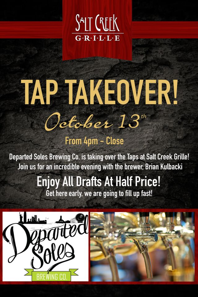 departed soles tap takeover