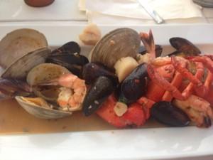 Seafood Mediterranean, Seaside, Christine Van Arsdalen, Jersey Bites