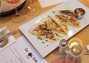 Jersey Bites Buzz March 2016 Fat Fish Taco Fresh Quesadilla