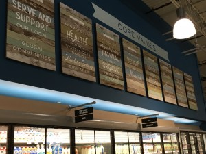 whole foods wall