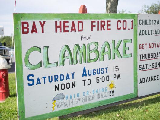 Clambake sign