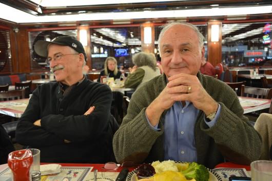 Rick Epstein (left) and Guy DeSapio